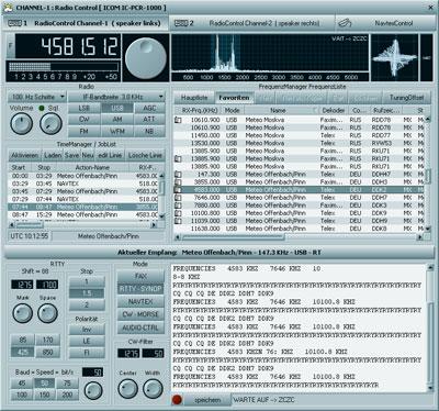MeteoCom 6 RadioManager RTTY
