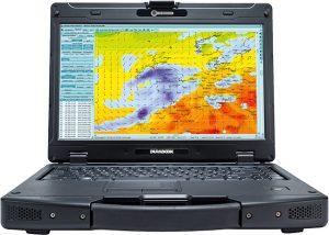 Durabook SA14 mit MeteoCom 6